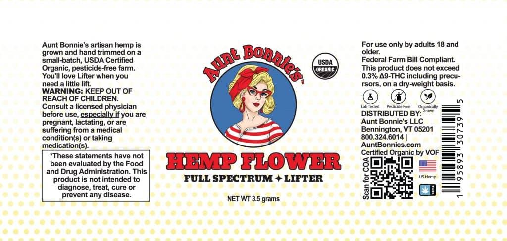 high quality hemp flower