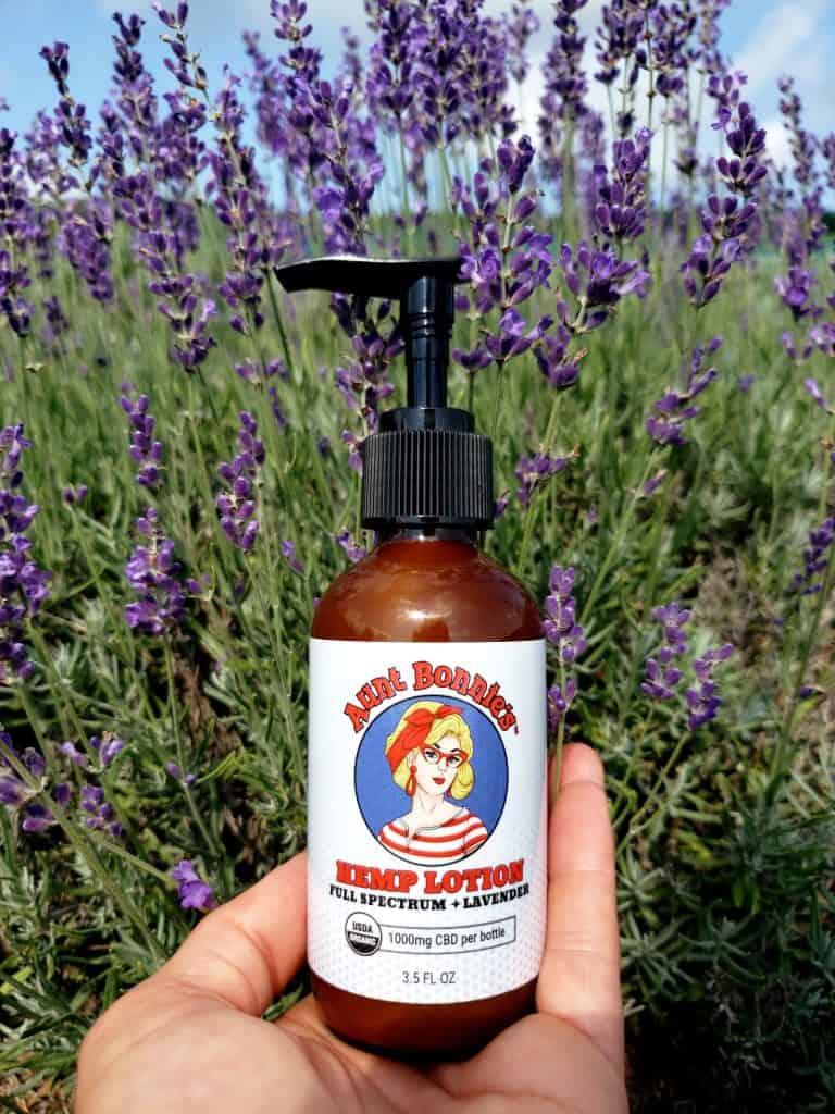 Organic CBD Lotion for Pain